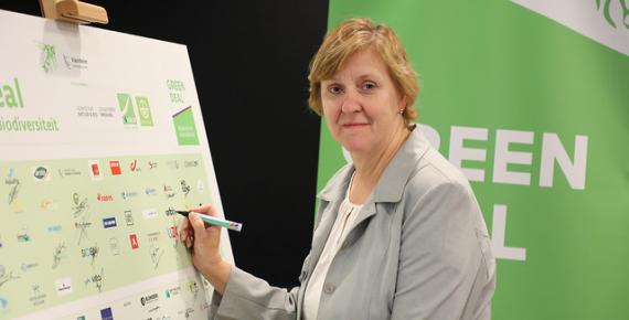 Orbix tekent Green Deal met de Vlaamse Overheid
