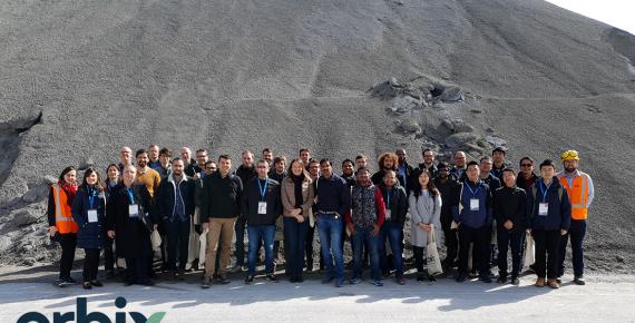 Slag Valorisation Symposium visits Orbix